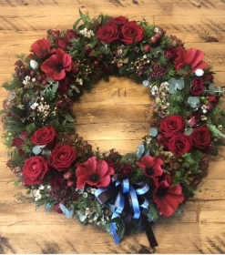 Wreath Reds and Greens